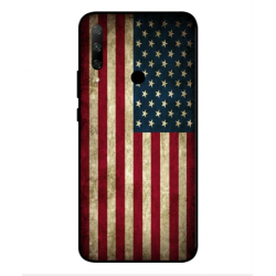 Coque Vintage America Pour Huawei Honor 9x