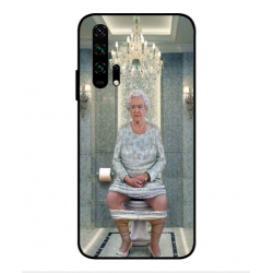 Huawei Honor 20 Pro Her Majesty Queen Elizabeth On The Toilet Cover