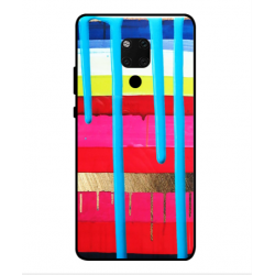 Huawei Mate 20 X 5G Brushstrokes Cover