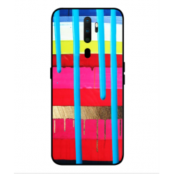 Oppo A9 2020 Brushstrokes Cover