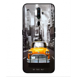 Oppo A9 2020 New York Taxi Cover