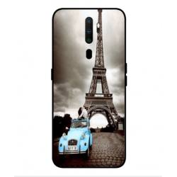 Oppo A9 2020 Vintage Eiffel Tower Case