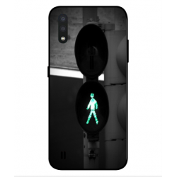 Coque It's Time To Go pour Samsung Galaxy A01