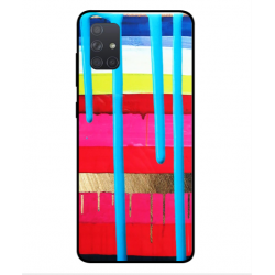 Samsung Galaxy A71 Brushstrokes Cover