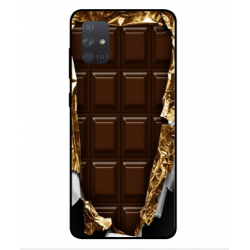 Samsung Galaxy A71 I Love Chocolate Cover