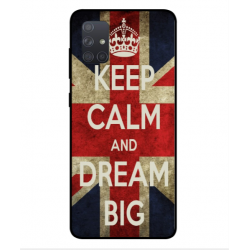 Samsung Galaxy A71 Keep Calm And Dream Big Cover