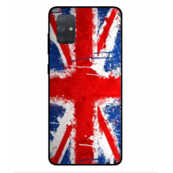 Samsung Galaxy A71 UK Brush Cover