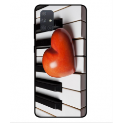 Samsung Galaxy A71 I Love Piano Cover