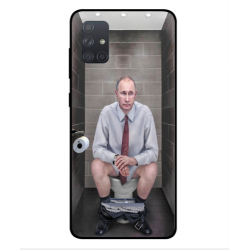 Samsung Galaxy A71 Vladimir Putin On The Toilet Cover