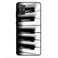 Samsung Galaxy A71 Piano Cover