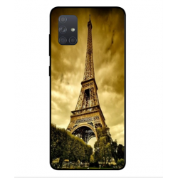 Samsung Galaxy A71 Eiffel Tower Case