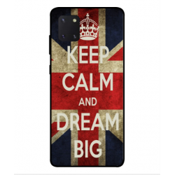 Samsung Galaxy Note 10 Lite Keep Calm And Dream Big Cover