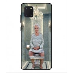 Samsung Galaxy Note 10 Lite Her Majesty Queen Elizabeth On The Toilet Cover