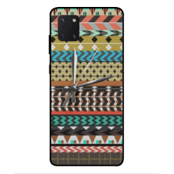 Samsung Galaxy Note 10 Lite Mexican Embroidery With Clock Cover