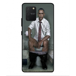 Samsung Galaxy S10 Lite Obama On The Toilet Cover