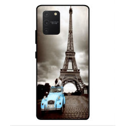 Samsung Galaxy S10 Lite Vintage Eiffel Tower Case