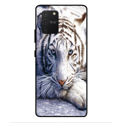 Samsung Galaxy S10 Lite White Tiger Cover