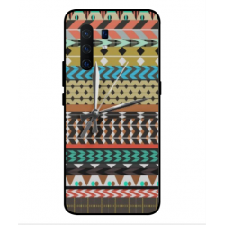 Vivo X30 Pro Mexican Embroidery With Clock Cover