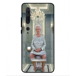 Xiaomi Mi Note 10 Her Majesty Queen Elizabeth On The Toilet Cover