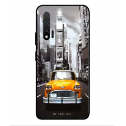 Huawei Nova 6 5G New York Taxi Cover