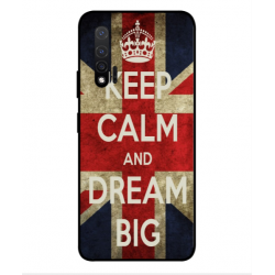 Huawei Nova 6 5G Keep Calm And Dream Big Cover