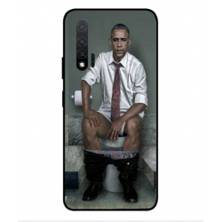 Huawei Nova 6 5G Obama On The Toilet Cover