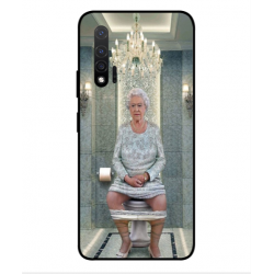 Huawei Nova 6 5G Her Majesty Queen Elizabeth On The Toilet Cover