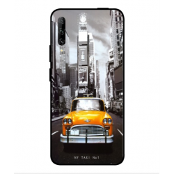 Coque New York Taxi Pour Huawei P smart Pro 2019