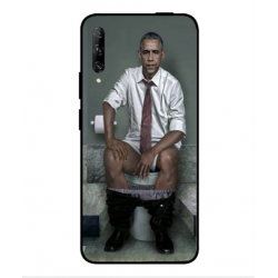 Huawei P smart Pro 2019 Obama On The Toilet Cover
