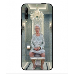 Huawei P smart Pro 2019 Her Majesty Queen Elizabeth On The Toilet Cover