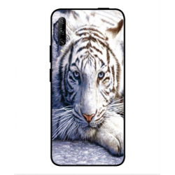 Huawei P smart Pro 2019 White Tiger Cover