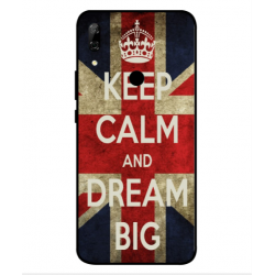 Coque Keep Calm And Dream Big Pour Huawei P Smart Z