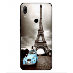 Huawei P Smart Z Vintage Eiffel Tower Case