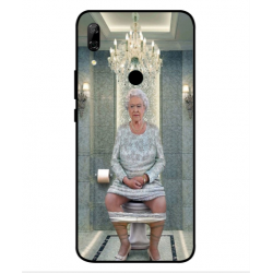 Huawei P Smart Z Her Majesty Queen Elizabeth On The Toilet Cover