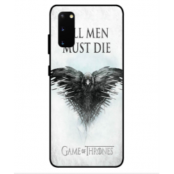 Samsung Galaxy S20 All Men Must Die Cover