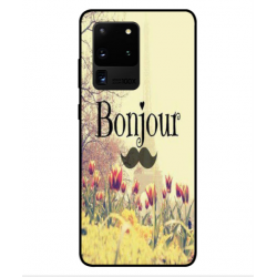 Samsung Galaxy S20 Ultra Hello Paris Cover