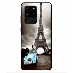 Samsung Galaxy S20 Ultra Vintage Eiffel Tower Case