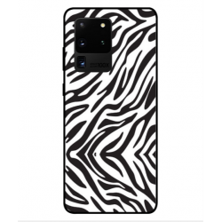 Samsung Galaxy S20 Ultra Zebra Case