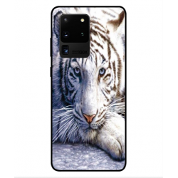 Samsung Galaxy S20 Ultra White Tiger Cover