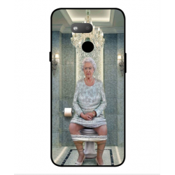 HTC Exodus 1s Her Majesty Queen Elizabeth On The Toilet Cover