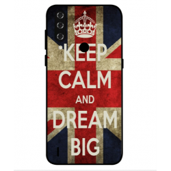 Keep Calm And Dream Big Hülle Für HTC Wildfire R70