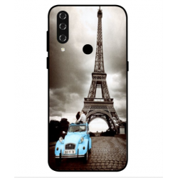 HTC Wildfire R70 Vintage Eiffel Tower Case