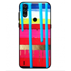 HTC Wildfire R70 Brushstrokes Cover