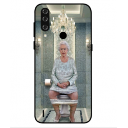 HTC Wildfire R70 Her Majesty Queen Elizabeth On The Toilet Cover