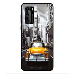 Coque New York Taxi Pour Huawei P40