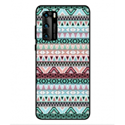 Huawei P40 Mexican Embroidery Cover