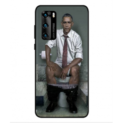 Huawei P40 Obama On The Toilet Cover