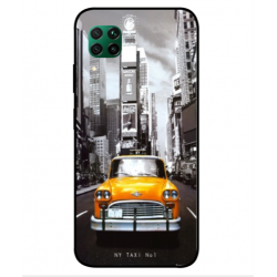 Coque New York Taxi Pour Huawei P40 Lite