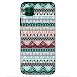 Coque Broderie Mexicaine Pour Huawei P40 Lite