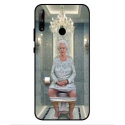 Huawei P40 Lite E Her Majesty Queen Elizabeth On The Toilet Cover